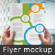 A4 Flyer in Hand Mockup - GraphicRiver Item for Sale