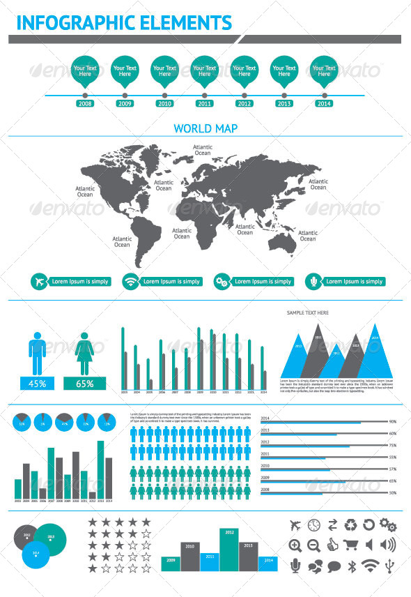 GraphicRiver Business Infographics 8190724