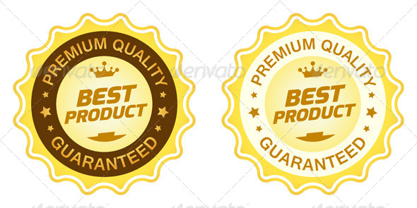 GraphicRiver Best Product Label 8190837