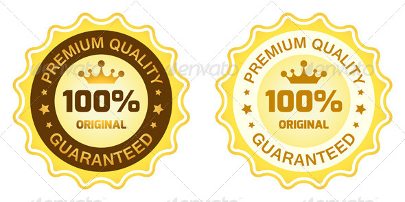 GraphicRiver 100 Premium Quality Label 8190853