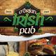 Irish Pub & Grill Flyer Set - GraphicRiver Item for Sale
