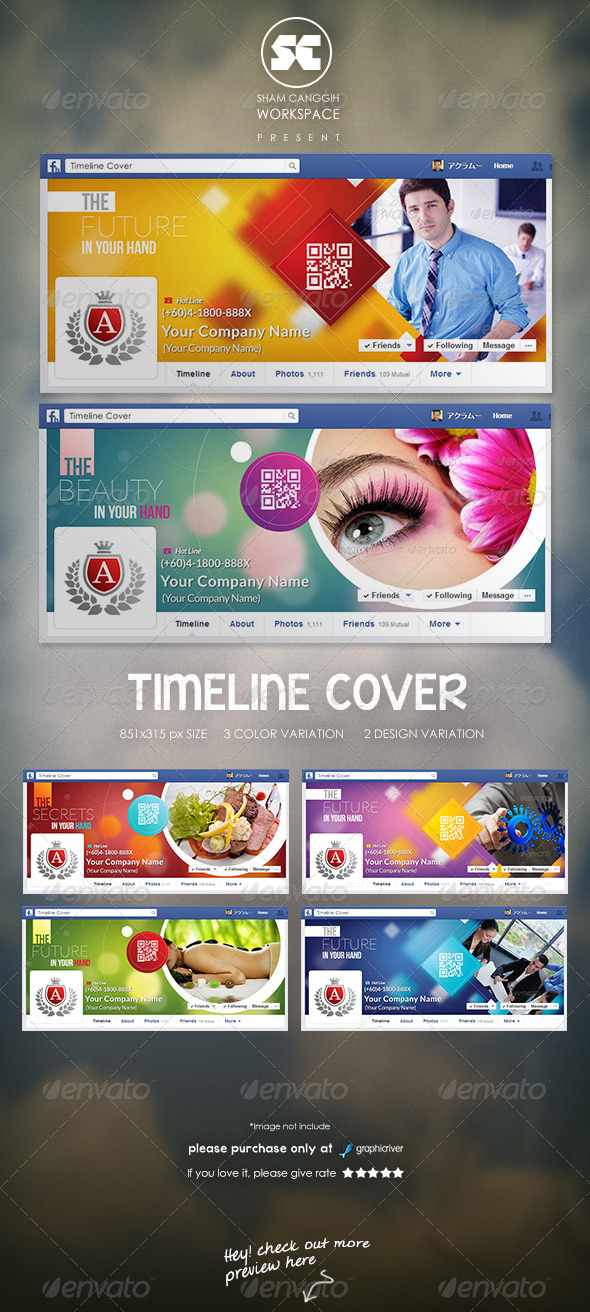 GraphicRiver Business Corporate Facebook Cover 8191349