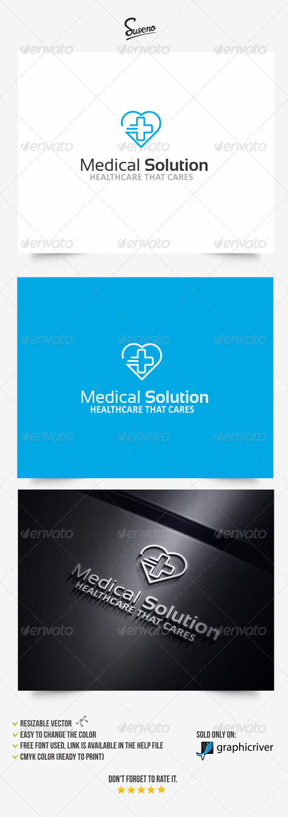 GraphicRiver Medical Solution logo 8180037