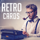 Retro Style Business Card - GraphicRiver Item for Sale