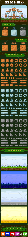 GraphicRiver Set of Blocks 8192282
