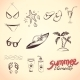 Summer Elements for your Design - GraphicRiver Item for Sale