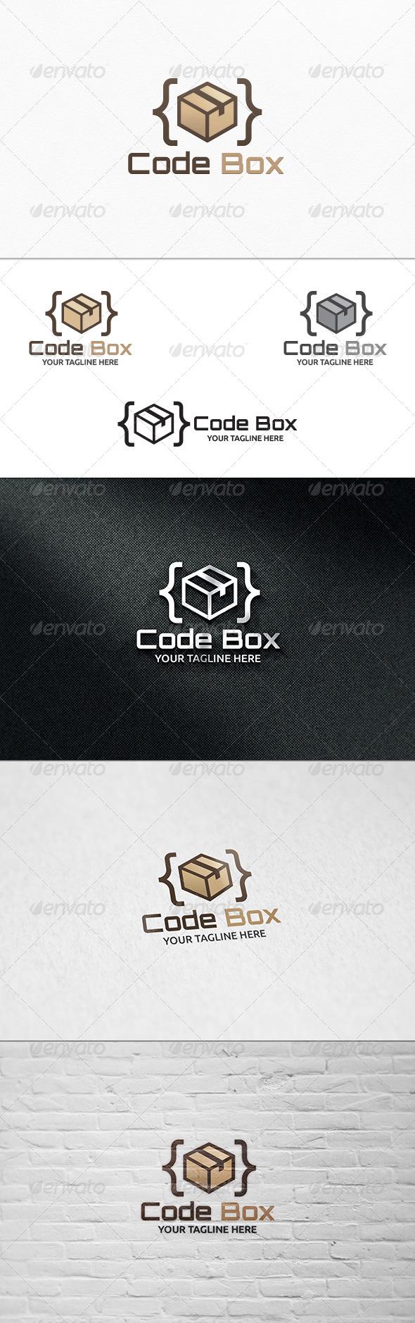 Code Box Logo Template