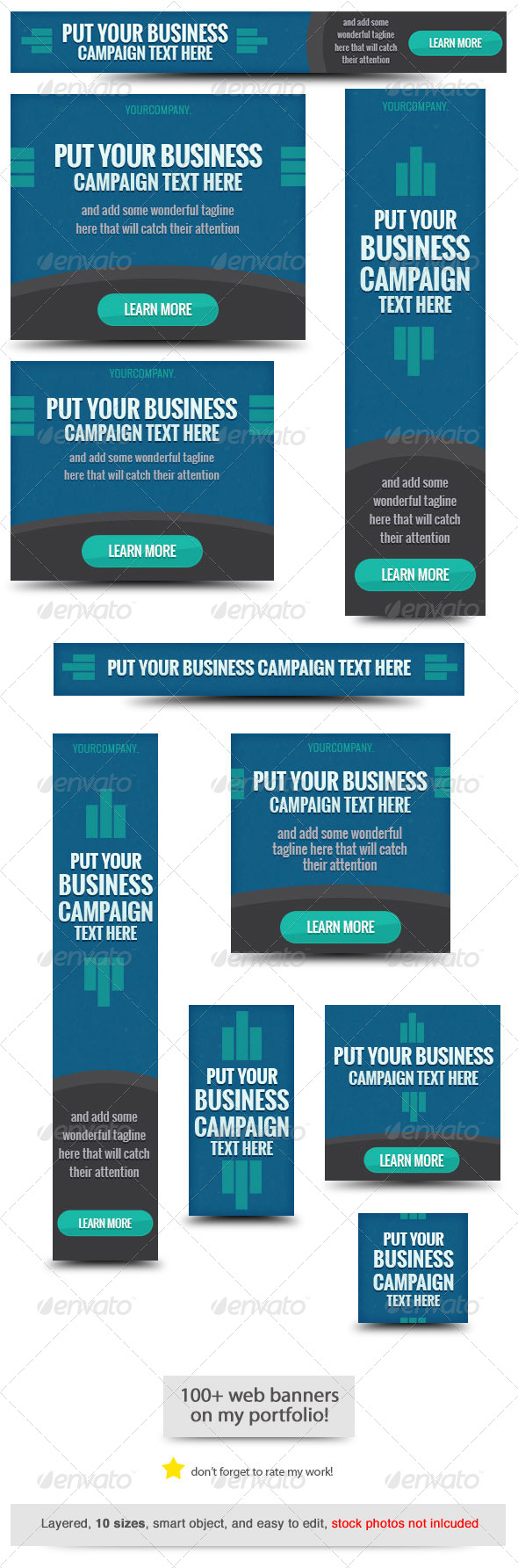 GraphicRiver Business Web Banner Template 8192803