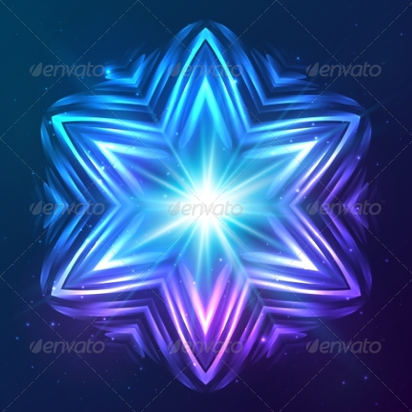 GraphicRiver Abstract Shining Cosmic Star 8193031