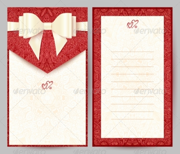 GraphicRiver Elegant Red Greeting Card 8193104