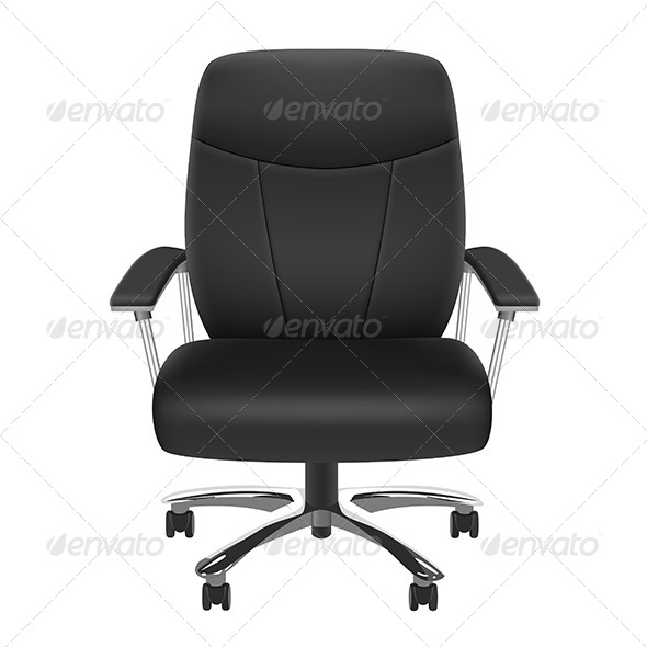 GraphicRiver Black Chair 8193189