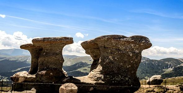 Babele Old Women Rocks In Bucegi Mountains