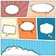 Comic Speech Bubbles Background - GraphicRiver Item for Sale