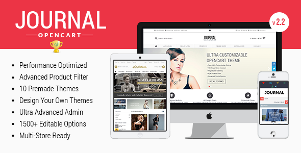 Journal - Advanced Opencart Theme Framework - OpenCart eCommerce