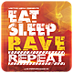 Eat Sleep Rave Repeat - Flyer - GraphicRiver Item for Sale