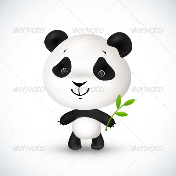 GraphicRiver Little Panda 8193384