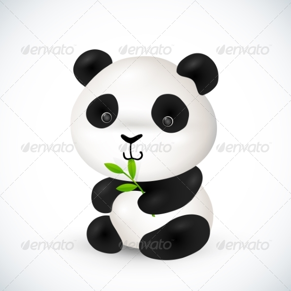 GraphicRiver Little Panda 8193386