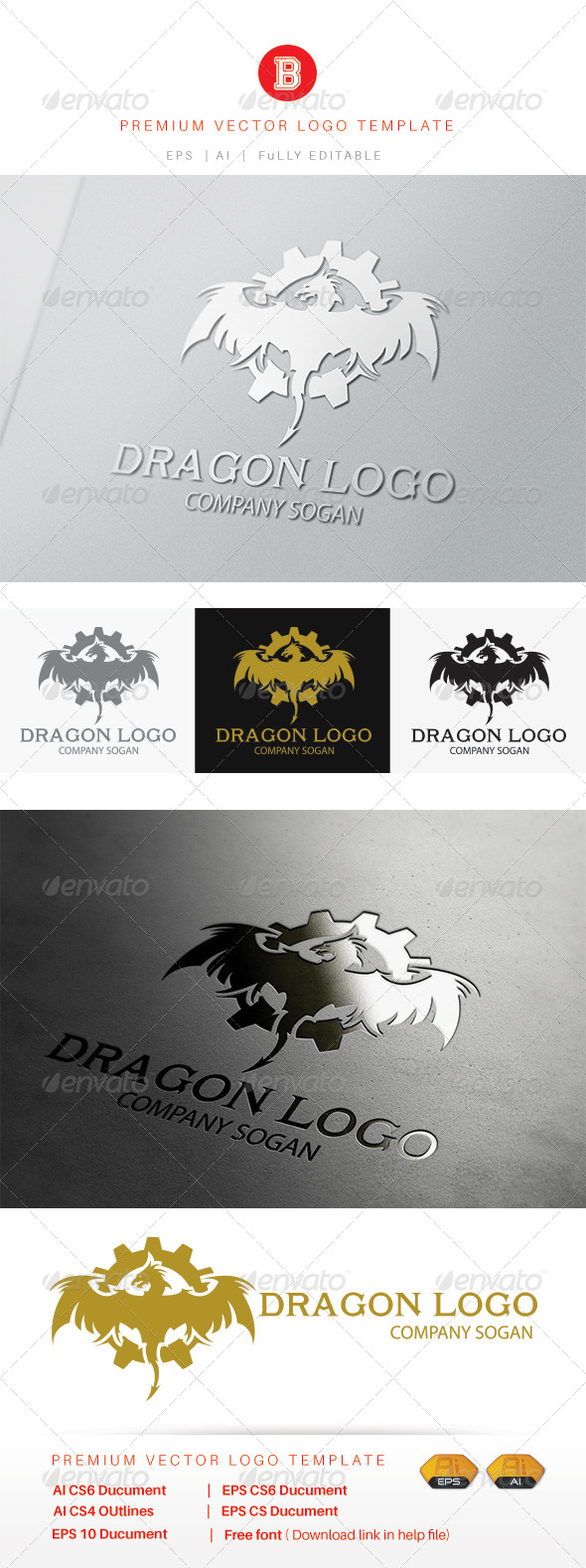 GraphicRiver Dragon 8193425