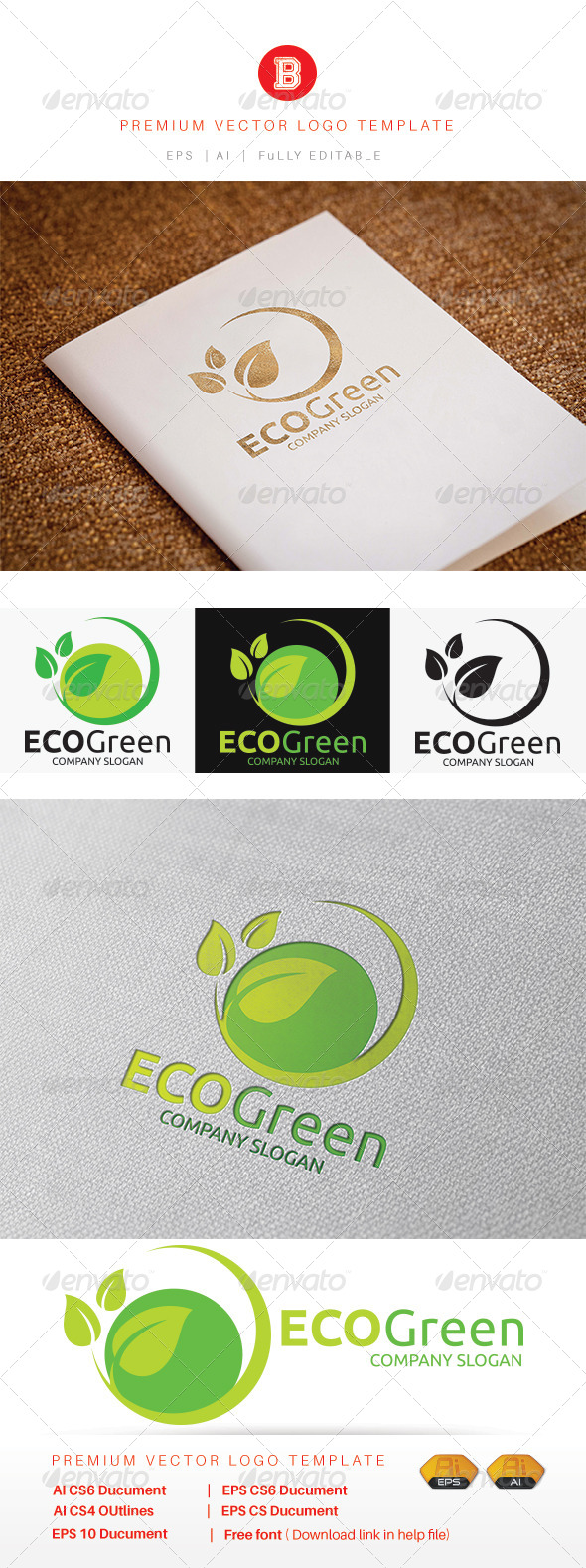 GraphicRiver Eco Green 8193432