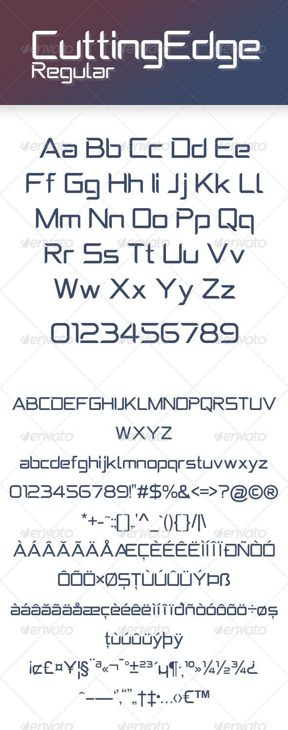 GraphicRiver CuttingEdge Regular 8180464