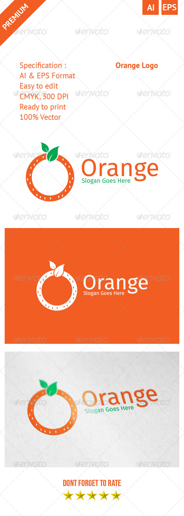 GraphicRiver Orange Logo 8193673