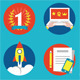 Set of Management Human Resources Icons - GraphicRiver Item for Sale