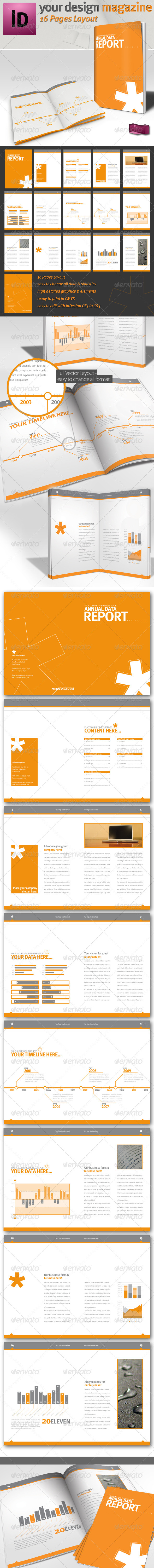 Professional Brochure // Magazine Template // A4  - Informational Brochures