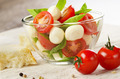 Salad Caprese and bread - PhotoDune Item for Sale
