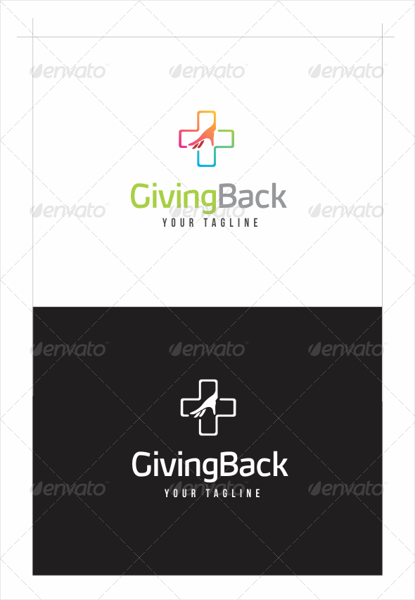 GraphicRiver Helping Hand Logo 8194390