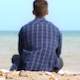 Sitting at the Beach - VideoHive Item for Sale