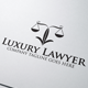 Luxury Lawyer Logo - GraphicRiver Item for Sale