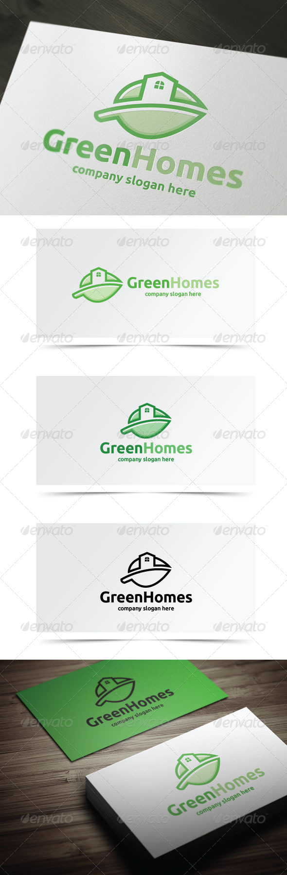 GraphicRiver Green Homes 8197102