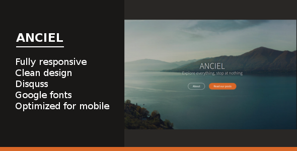 Anciel: Elegant Multipurpose Theme for Ghost - Ghost Themes Blogging