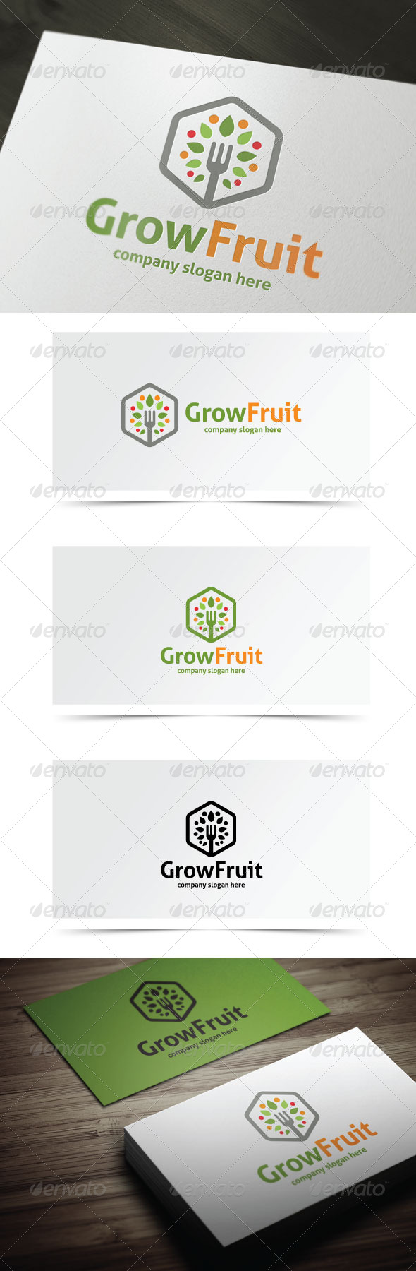 GraphicRiver Grow Fruit 8197121