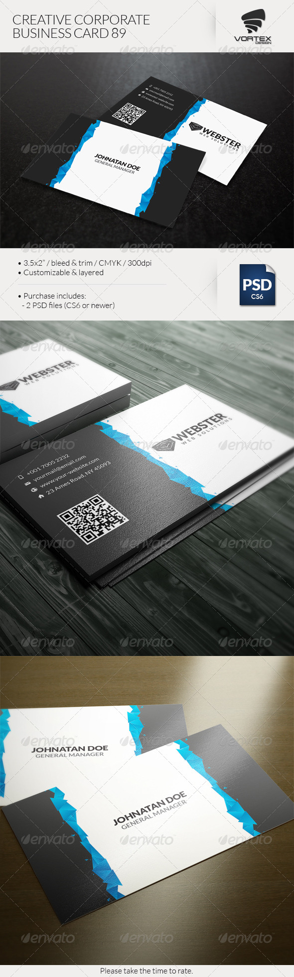 GraphicRiver Creative Corporate Business Card 89 8197150