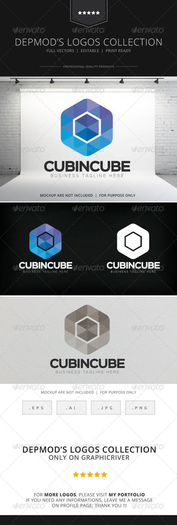 GraphicRiver Cubeincube Logo 8197165
