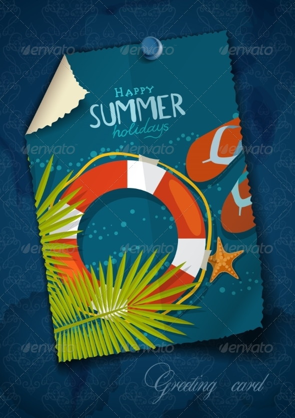 GraphicRiver Greeting Card Design Template 8197261