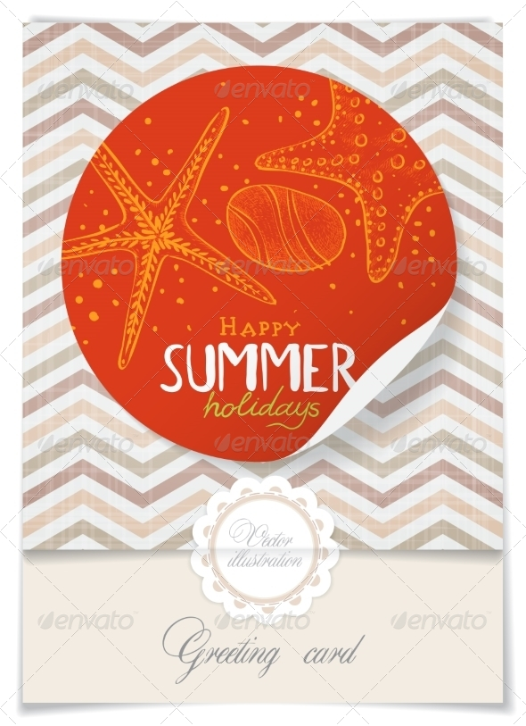GraphicRiver Greeting Card Design Template 8197303