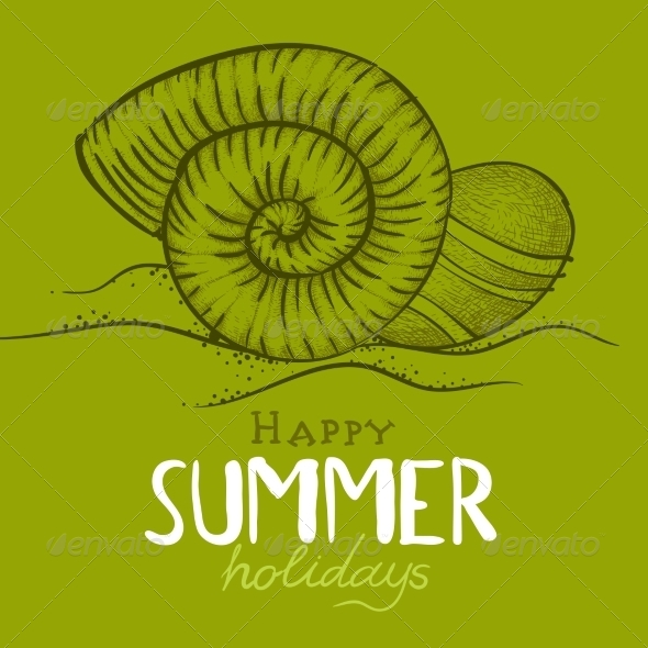 GraphicRiver Summer Holidays Background 8197346