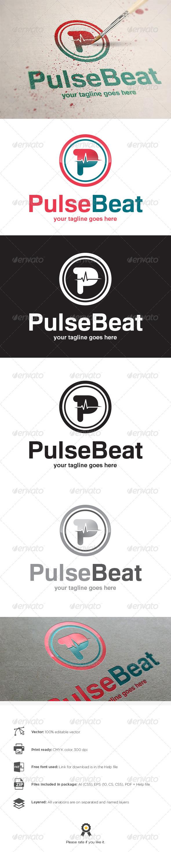 GraphicRiver Pulse Logo 8197372