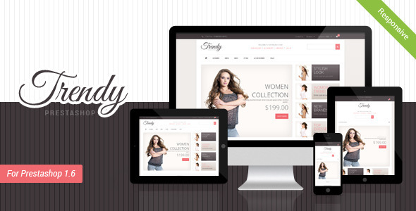 TRENDY Responsive Prestashop 1.6 Theme - Fashion PrestaShop