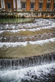 Waterfall.Ornamental fountains of the Palace of Aranjuez, Madrid - PhotoDune Item for Sale