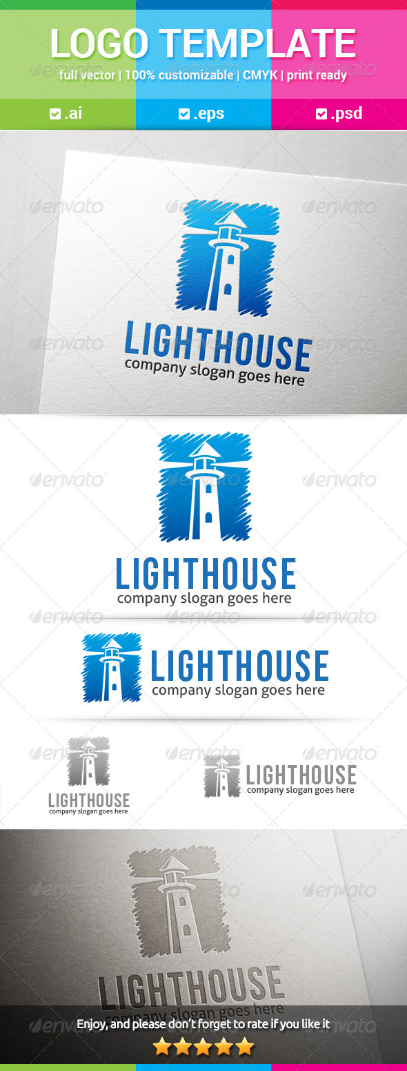 GraphicRiver Lighthouse Logo 8197578