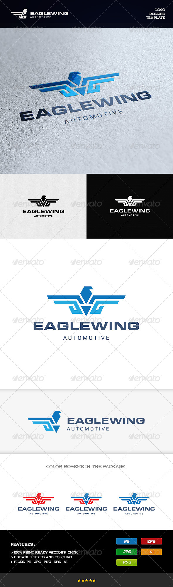 GraphicRiver Eagle Wing 8197718
