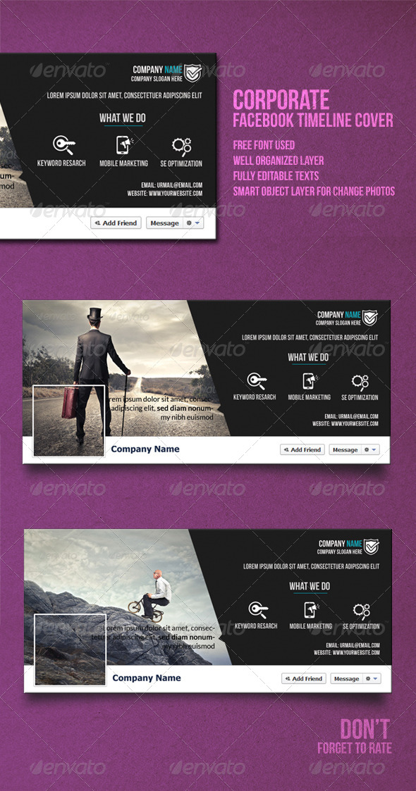 GraphicRiver Corporate Timeline Cover 8198087
