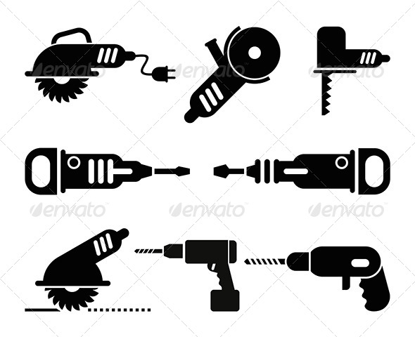 GraphicRiver Electric Tools 8198239