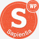 Sapientia Wordpress Theme - ThemeForest Item for Sale