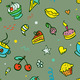 seamless background with sweets - PhotoDune Item for Sale