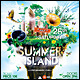 Summer Island Poster/Flyer - GraphicRiver Item for Sale