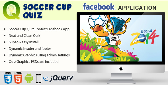 CodeCanyon Facebook Soccer Cup Quiz Contest Application 7986835
